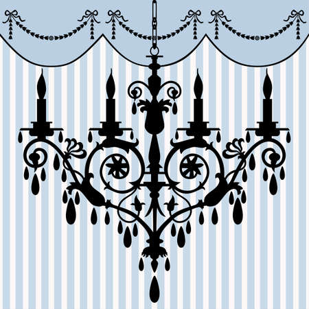 Chandelier Stock Vector - 6081366