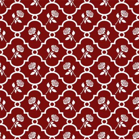 Roses wallpaper Stock Vector - 6112057