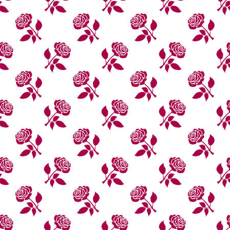 Red roses background Stock Vector - 6112054