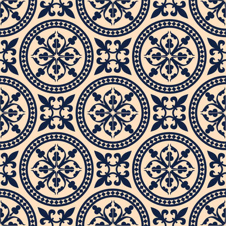 oriental: Antique seamless pattern Illustration