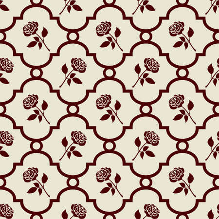 Roses background Stock Vector - 6139888