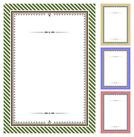 Set of certificates Vector