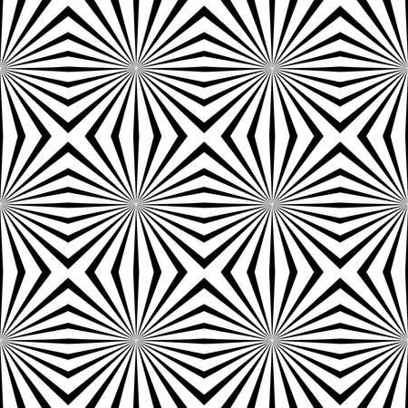 optical image: geometric illusions background Illustration
