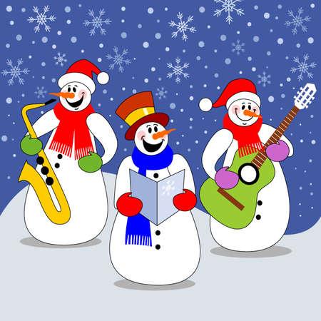 Christmas concert Vector