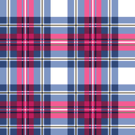 red plaid: Seamless checkered pattern