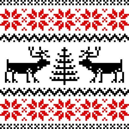 Nordic pattern Stock Vector - 8530888