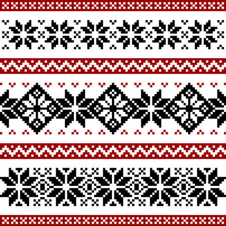 norwegian: Nordic pattern