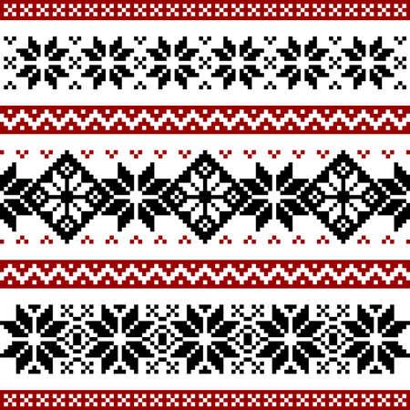 Patrón nórdico Ilustración de vector