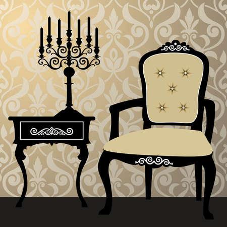 furniture idea: Interior scene
