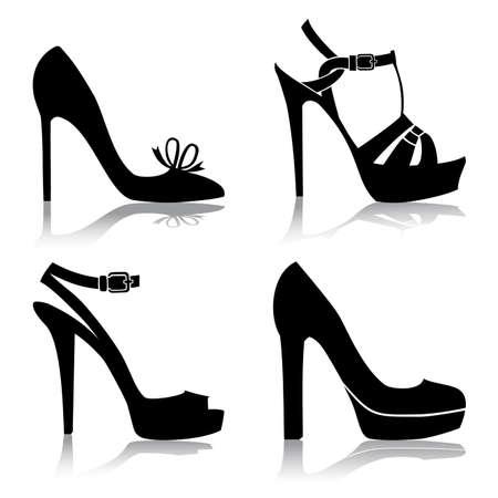 tacones: Colecci�n de zapatos