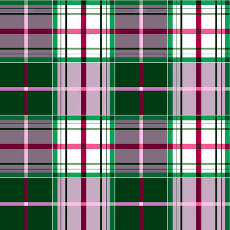 Checkered tartan pattern Vector