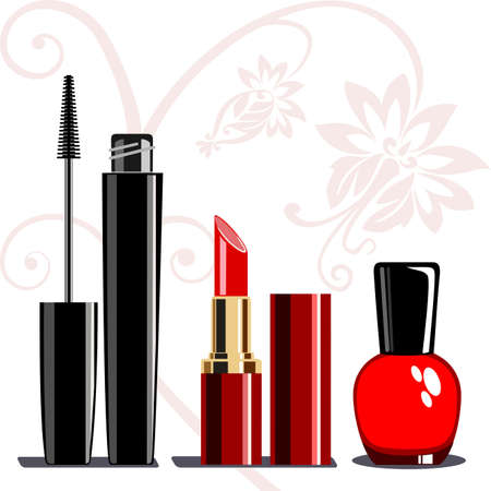 Makeup set Stock Vector - 9210669