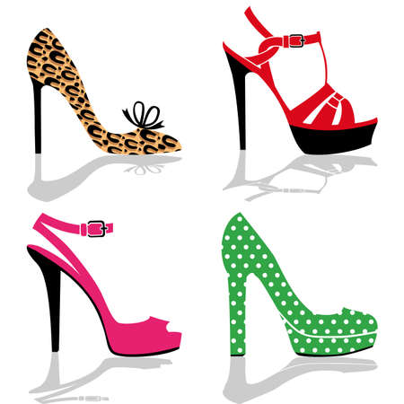 high fashion: Women shoes collection