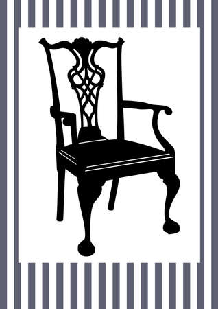 antique chair: Antique chair