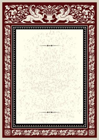 Certificate, diploma or awards template