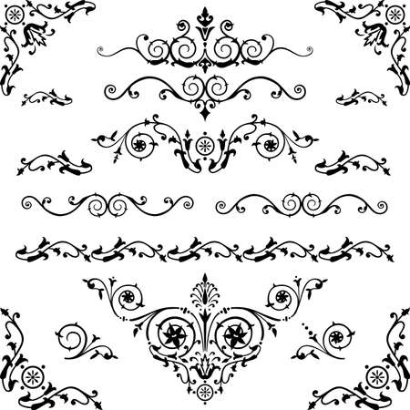 vintage design elements Stock Vector - 9930273