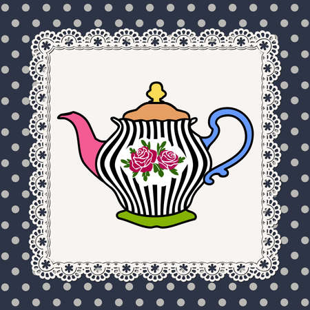 Teapot Stock Vector - 9930276