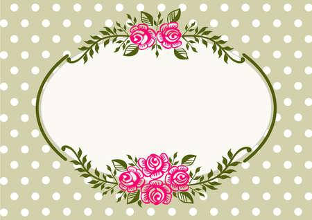 minable: Trame verte Vintage roses