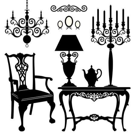 butacas: Muebles antiguos