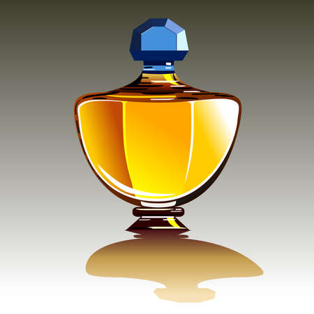Parfumflesje Vector Illustratie