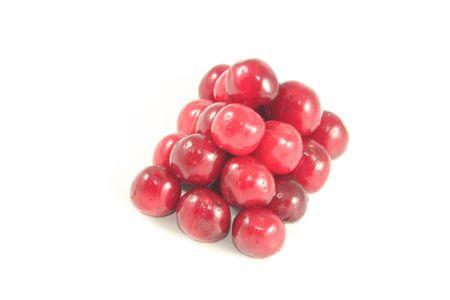 Cherry like pyramid shape Stock Photo