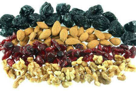Mix of dry fruits photo