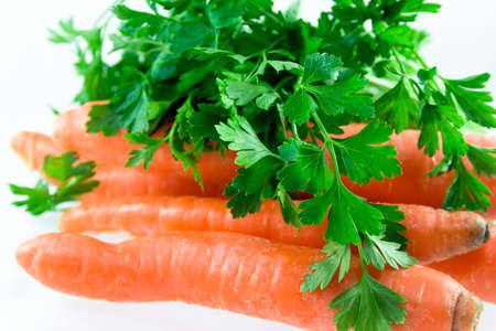 Carrot and parsley photo