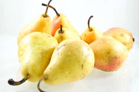 Studio shot of pears Stock Photo
