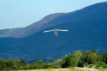Flying paramotor