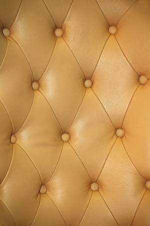 Sepia picture of genuine leather upholstery photo