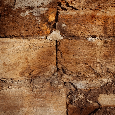Old stone walls of city buildings, texture cement wall Stock Photo - 17141676