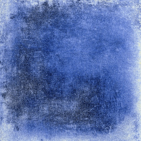 Vintage blue background with texture of paper for any of your design photo