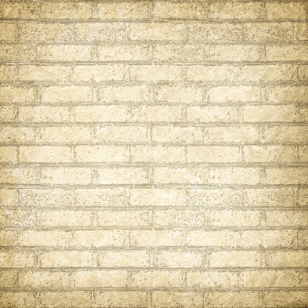Vintage background with texture watercolor brickwork, for any of your design photo