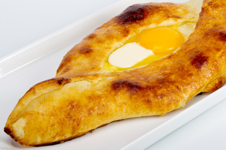 Pita with cheese and eggs (exclusive to the Black Sea region)  photo