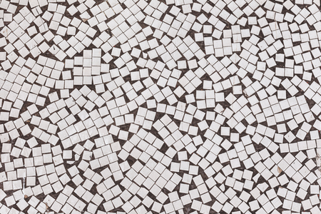 redecorate: Old mosaic texture on the wall. Landscape style. Great background or texture.