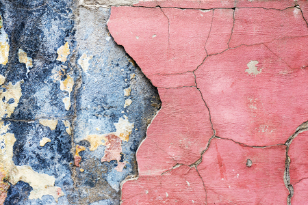 violet red: Vintage background, antique grunge backdrop or scratched texture with different color patterns