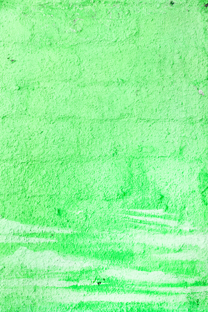 Abstract, damage to walls with many colors. Style of landscape. Rough concrete surface with cracks, scratches and paint stains. Great background or texture. Stock Photo
