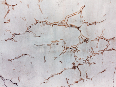 Abstract concrete, weathered with cracks and scratches. Banco de Imagens