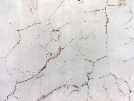 Abstract concrete, weathered with cracks and scratches. Landscape style. Grungy Concrete Surface. Great background or texture. Banco de Imagens
