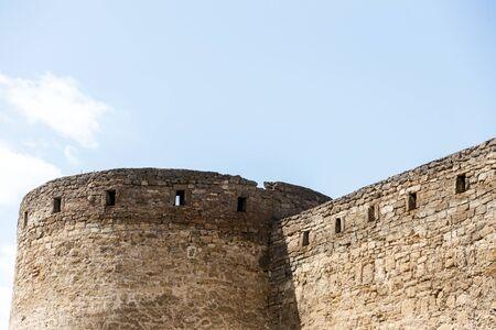Ancient stone and brick Akkerman fortress 스톡 콘텐츠 - 129389986