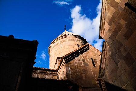 The Goshavank Monastery, previously known as the Nor Ghetik