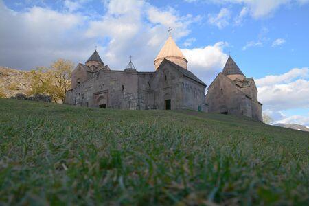 Goshavank monastery in the village of Gosh, Dilijan