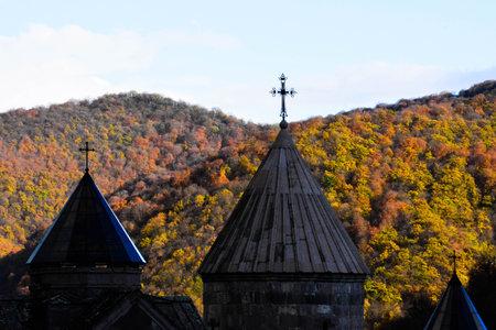 Goshavank Monastery is located about 20 miles east of Dilijan, Armenia
