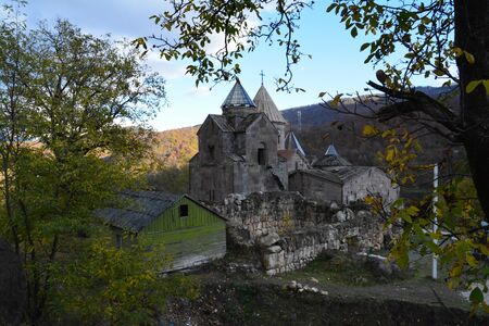 Goshavank is a 12th- or 13th-century Armenian monastery located in the village of Gosh in the Tavush Province of Armenia 新聞圖片