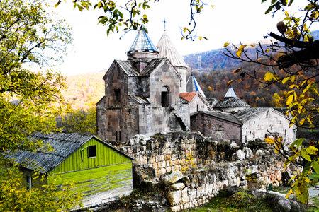Goshavank Armenian medieval monastery complex XII-XIII centuries in the village of Gosh 新聞圖片
