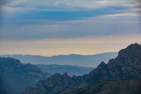 Beautiful mountain landscape. Wonderful mountain views
