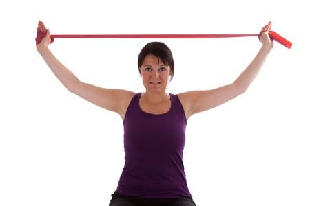 Exercises with Theraband Standard-Bild