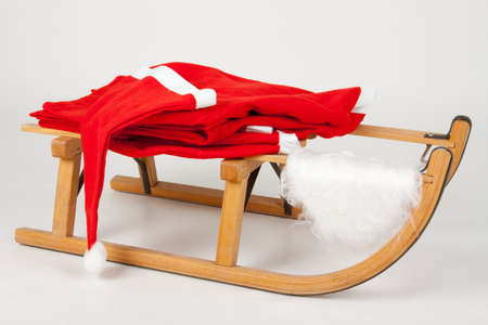 Costume on a sled Stock Photo - 8261862