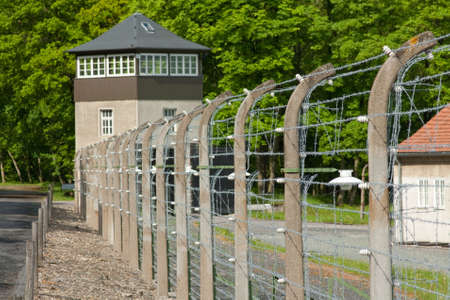 concentration camp: the concentration camp beeche grove in Thuringia