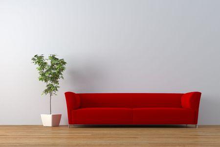 Modern interior  Standard-Bild - 4007822